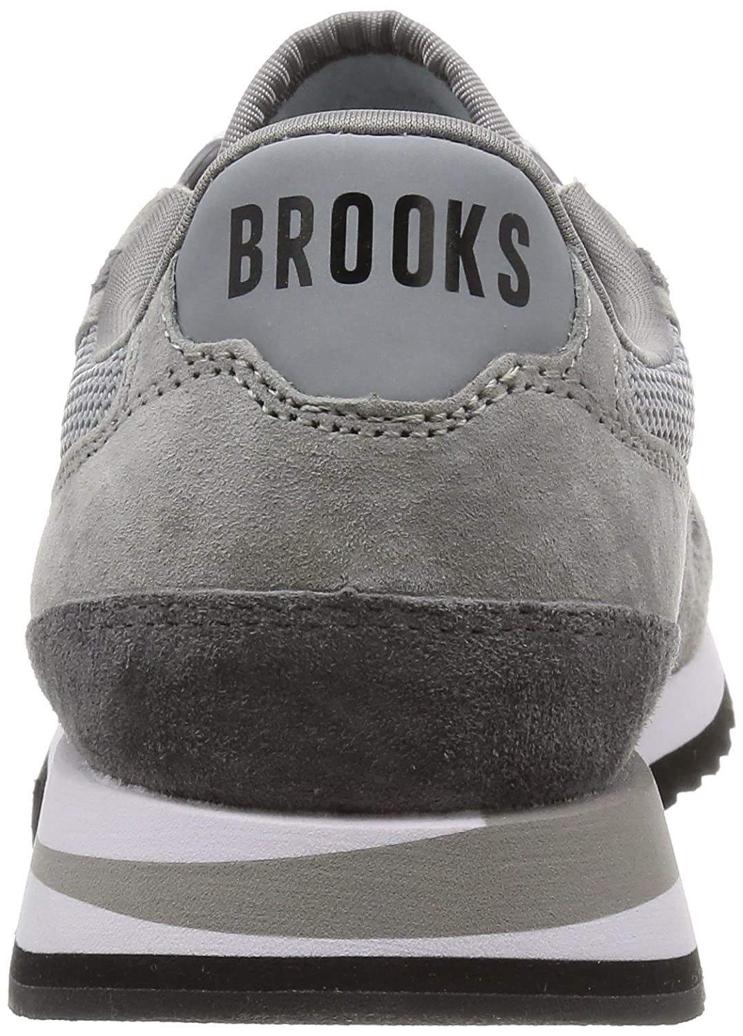 Brooks Women's Chariot B00MMPQFEQ 6 B(M) US|Athletic Grey/White