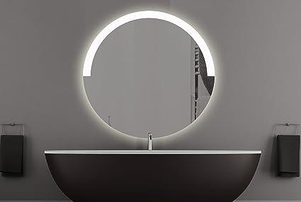 Graz specchio rotondo con led illuminazione bagno specchio camera da