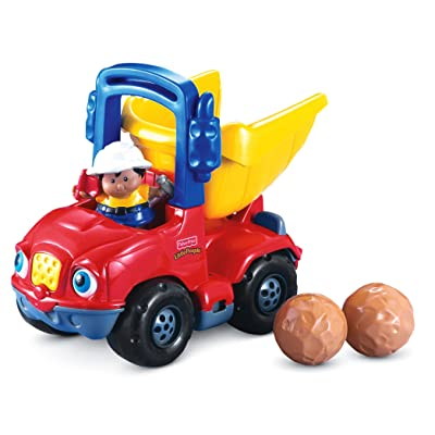 Fisher-Price Little People Dumpety the Dump Truck: Toys & Games
