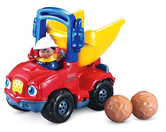 Amazon.com: Fisher-Price Little People Dumpety the Dump Truck: Toys & Games