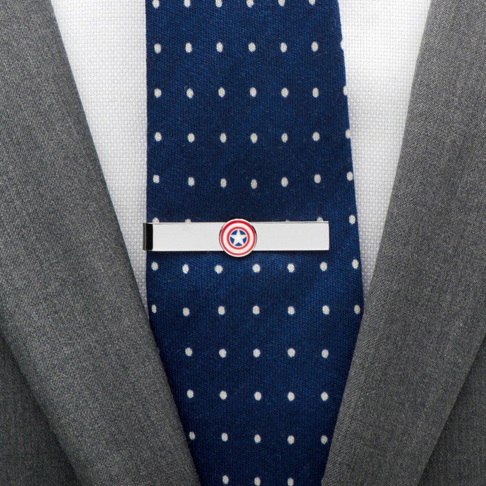 Marvel Capitán América escudo barra de lazo: Amazon.es: Joyería