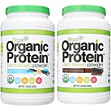 Orgain Organic Plant Based Protein Powder (Chocolate & Vanilla, 2.03 Pound)
