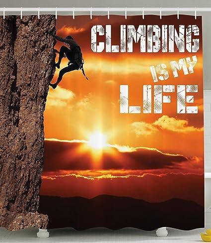 Montaña decoración Scenic escalada es mi vida Inspirational ...