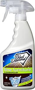 Fine Furniture Cleaner & Polish: Add a Beautiful Spray Shine to your Furniture and Wood Cabinets. By Black Diamond Stoneworks. (1-pint)