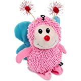 Petface Butterfly Dog Toy, Blue/Pink