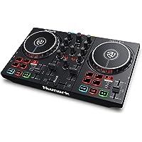 Numark Party Mix II - DJ Controller / DJ Set voor beginners met ingebouwde DJ Verlichting en DJ Mixer voor Serato DJ…