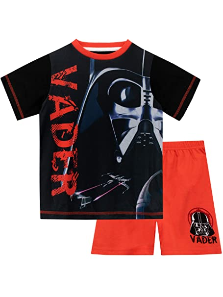 STAR WARS Pijamas de Manga Corta para niños La Guerra de Las Galaxias