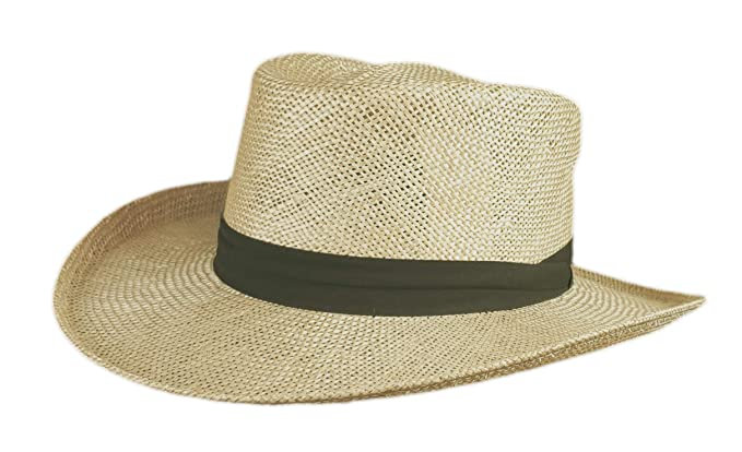 3fd5c475 Stetson Muldoon - Bao Straw Outdoorsman Hat: Amazon.ca: Clothing ...
