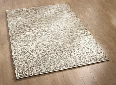 Tappeti In Tessuto Naturale : Tappeto marrone naturale a trama piatta tappeti di design grigi