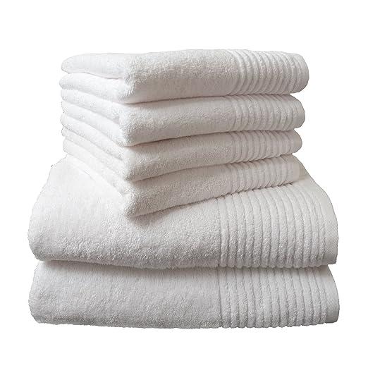 "6 opinioni per Dyckhoff, Set asciugamani ""Brillant"", 6 pz., Bianco (Weiß)"