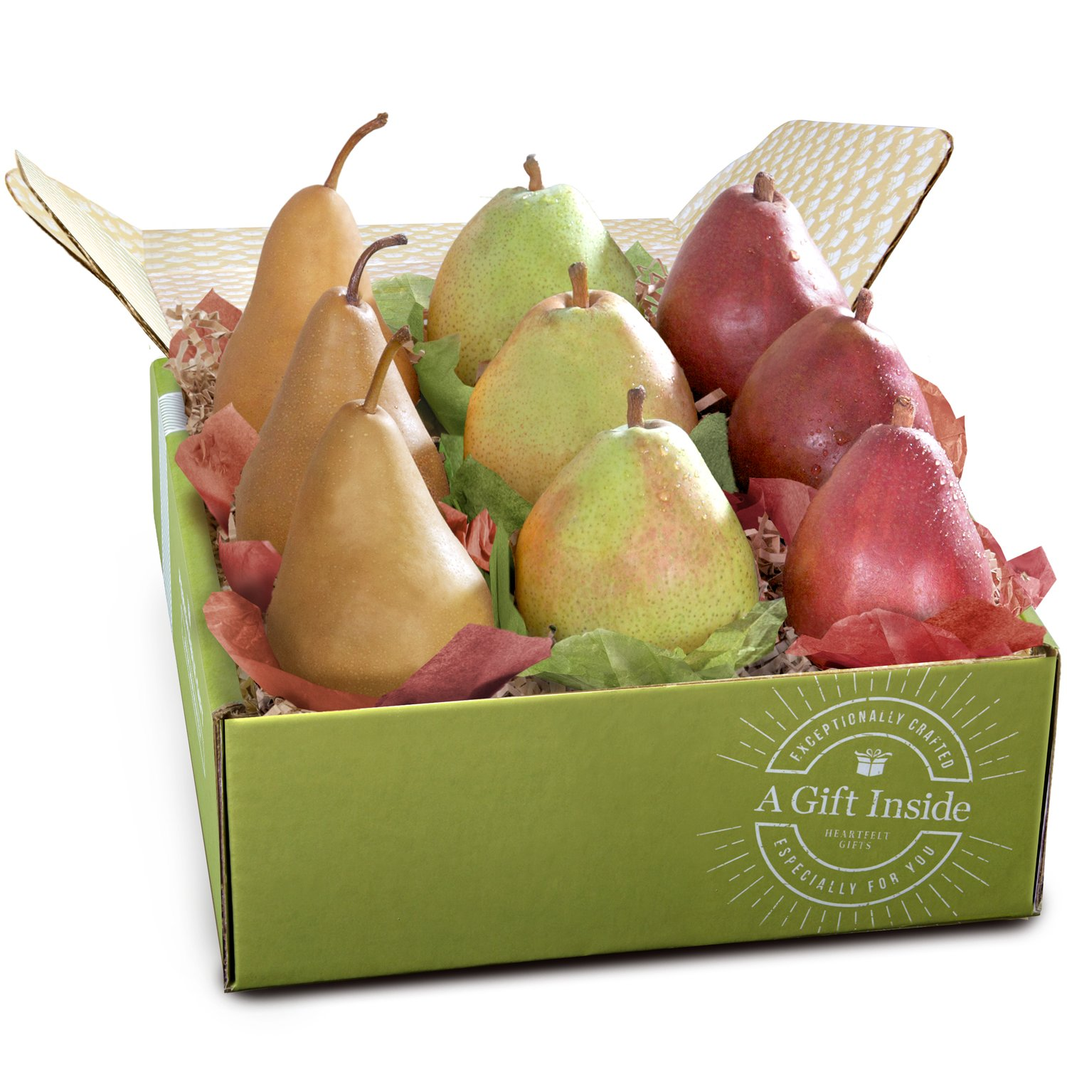 Golden State Fruit Pears to Compare Deluxe Gift