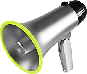 Outer Trails Lightweight Megaphone Speaker PA Bullhorn with…
