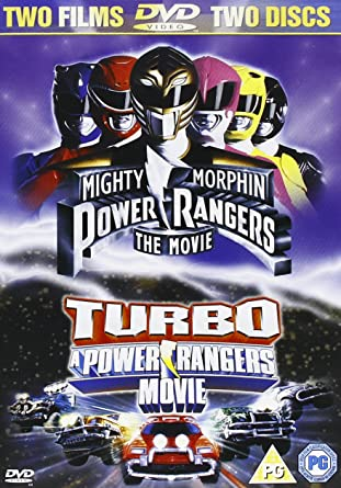 Power Rangers-Movie/Turbo-Movie DVD [Reino Unido]: Amazon.es: Power Rangers: Cine y Series TV