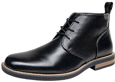 c16c27ba2a22 SHENBO JOUSEN Men s Dress Boots Simple Style Ankle Chukka Boot(10.5