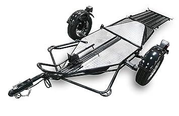 Serie único bicicleta ride-up plegable remolque para motocicletas para remolque una motocicleta - por Kendon plegable moto remolques - negro: Amazon.es: ...