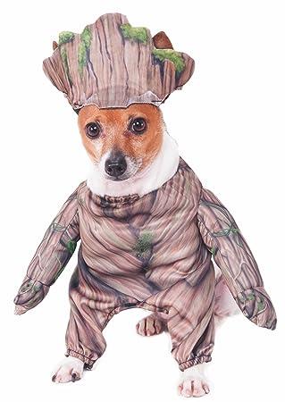 Rubieu0027s Marvel Walking Groot Pet Costume Small  sc 1 st  Amazon UK & Rubieu0027s Marvel Walking Groot Pet Costume Small: Amazon.co.uk: Pet ...