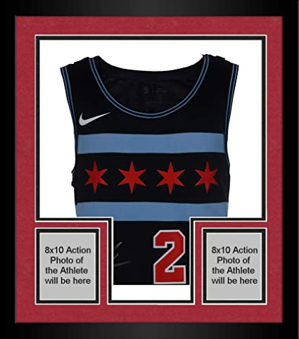 on sale 63b51 646a2 Framed Lauri Markkanen Chicago Bulls Autographed Nike City ...