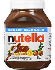 NUTELLA Hazelnut Spread - 1KG Jar, 1000 grams