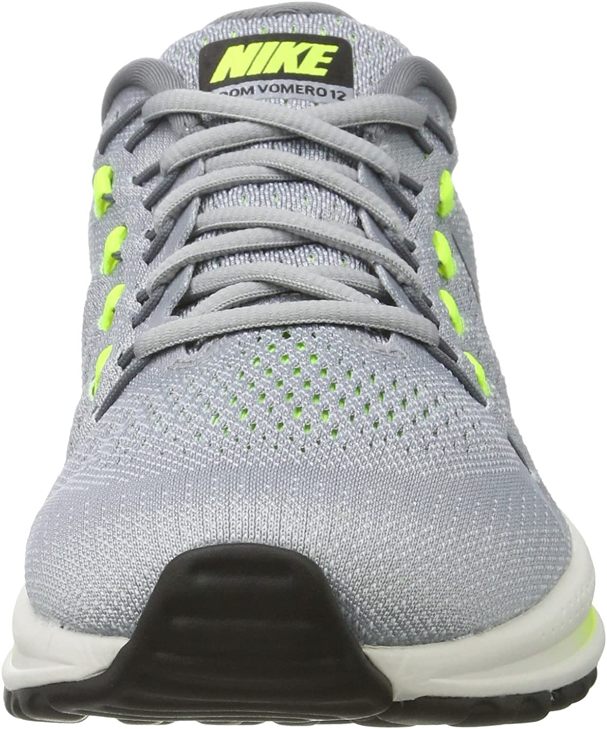 Nike Air Zoom Vomero 12, Zapatillas de Running para Hombre, Gris (Wolf Grey/Black/Cool Grey/Pure Platinum 002), 38.5 EU: Amazon.es: Zapatos y complementos