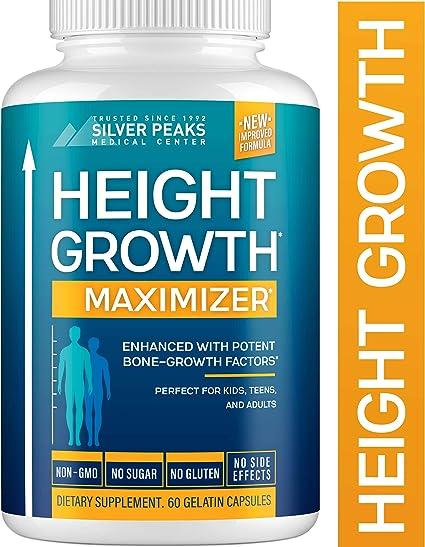 Amazon Com Height Growth Maximizer Natural Height Pills To Grow