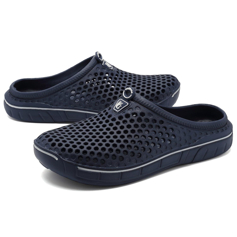 welltree Sandalias de jardín para hombres Unisex Zapatos de mujer Sandalias  de secado rápido Armada 459f8e5657b43