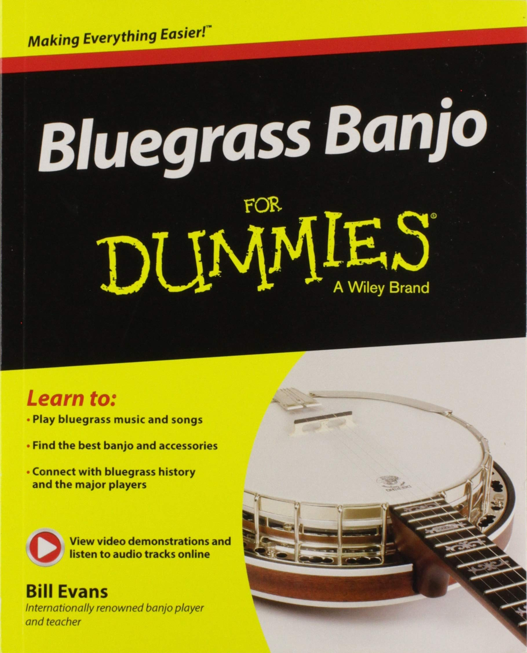 Amazon com: Bluegrass Banjo For Dummies (9781119004301