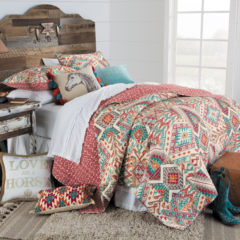 Rod's Canyon Southwestern Chic Quilt, King