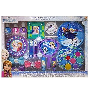 Amazon.com: El juego de maquillaje Townley Girl Frozen Mega ...