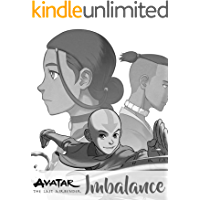 Avatar: The Last Airbender Imbalance Nickelodeon Avatar American fantasy and adventure anime comic fan book cover