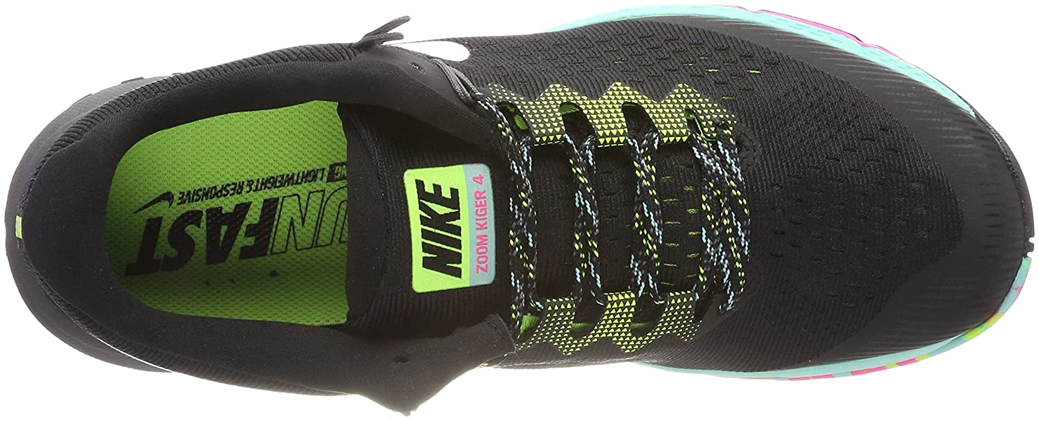 promo code 87627 9802b Nike Mens Zoom Terra Kiger 4 Trail Running Shoes Black/White/Volt 880563-001  Size 9. 5: Buy Online at Low Prices in India - Amazon.in