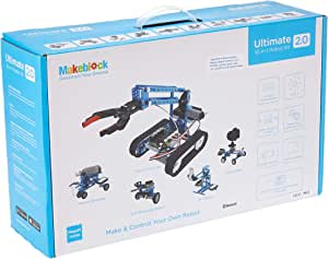 Makeblock Ultimate 2.0 Robot Kit - 10 in 1 educational robot kit based on Arduino Mega