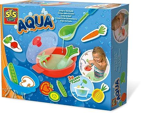 Giochi Di Fare Il Bagno Nella Vasca.Ses 13064 Zuppa Nella Vasca Da Bagno Aqua Amazon It Giochi E