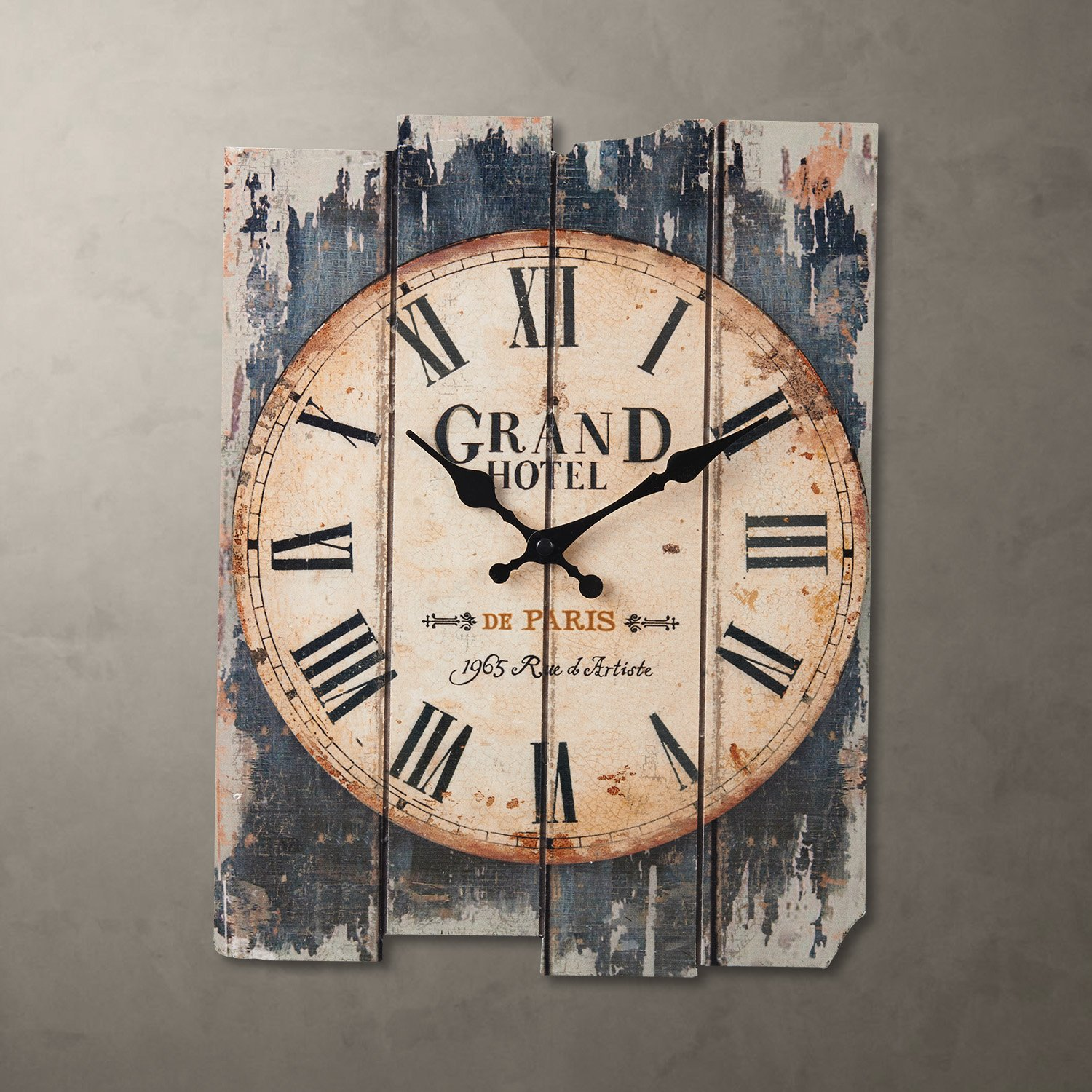 LightInTheBox 15''H Country Style Brown Indoor Analog Wall Clock Home Decor Design Wall Clocks