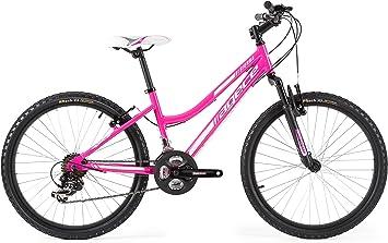 Agece Sierra-26D Bicicleta de montaña, Mujer, Rosa, S: Amazon.es ...