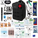 BOBLOV 250PCS First Aid Kit Bag Emergency Medical Luggage Multi-Function First aid Emergency Supplies for Wilderness