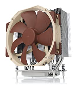 Noctua NH-U14S TR4-SP3, Premium CPU Cooler for AMD sTRX4/TR4/SP3 (140mm, Brown)