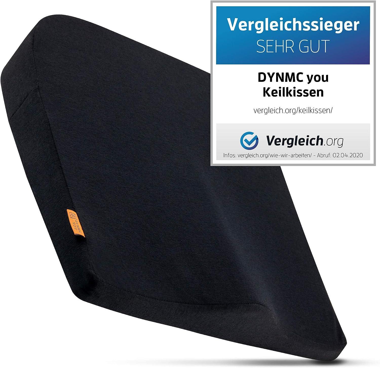 DYNMC you Keilkissen Orthop/ädisch Sitzkissen Auto mit angenehmem H/ärtegrad Aufstehkissen Ergonomisches Sitzkissen B/ürostuhl aus Visko Schaum