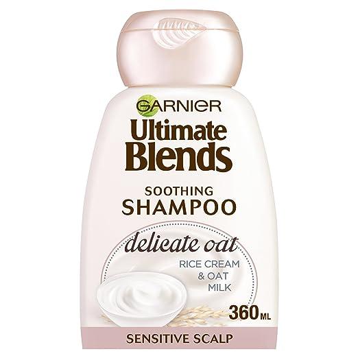 Garnier ultimate blends, avena, leche champú cuero cabelludo sensible, 360 ml, pack de 6: Amazon.es: Belleza