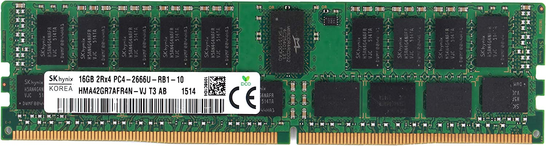 SK HYNIX 16GB PC4-2666U-R DDR4 Registered ECC 2RX4 Memory RDIMM HMA42GR7AFR4N-VJ