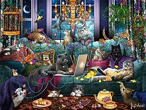 Buffalo Games - Quarantine Cats - 750 Piece Jigsaw Puzzle