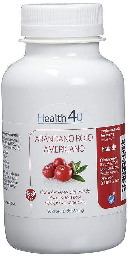 H4U - H4U Arándano Rojo Americano 90 cápsulas de 650 mg