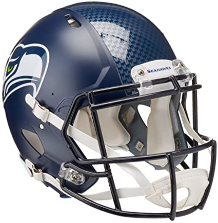 484fe8ceff4 Amazon.com   NFL Seattle Seahawks Speed Authentic Helmet   Sports Related  Collectibles   Sports   Outdoors