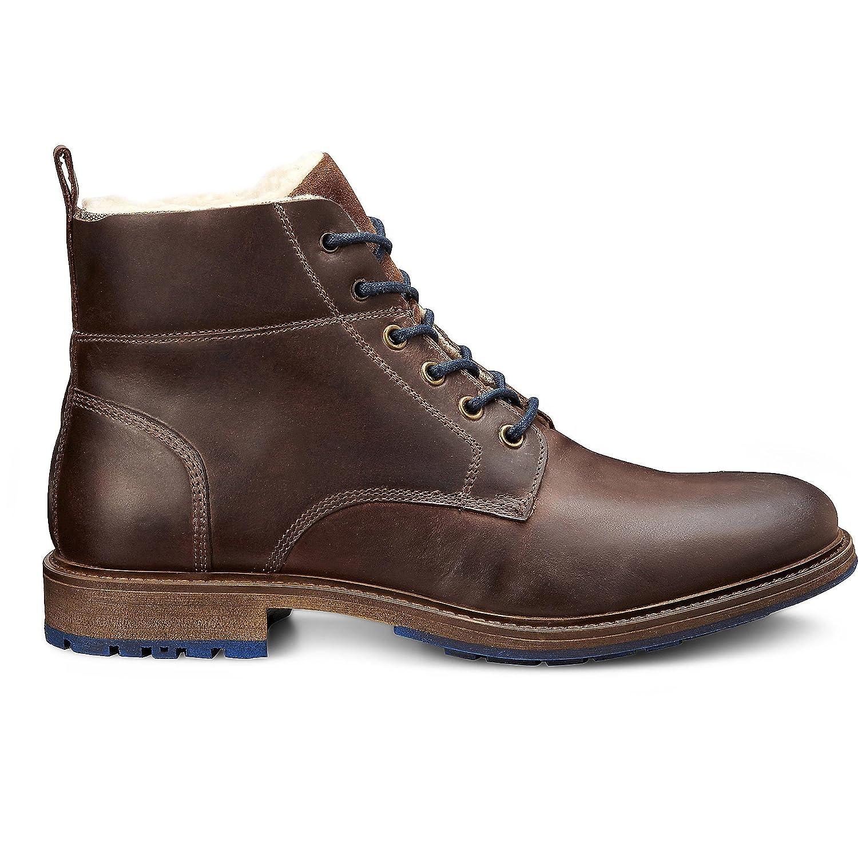 Cox Herren Winter Boots Braundunkel Billig und erschwinglich Im Verkauf