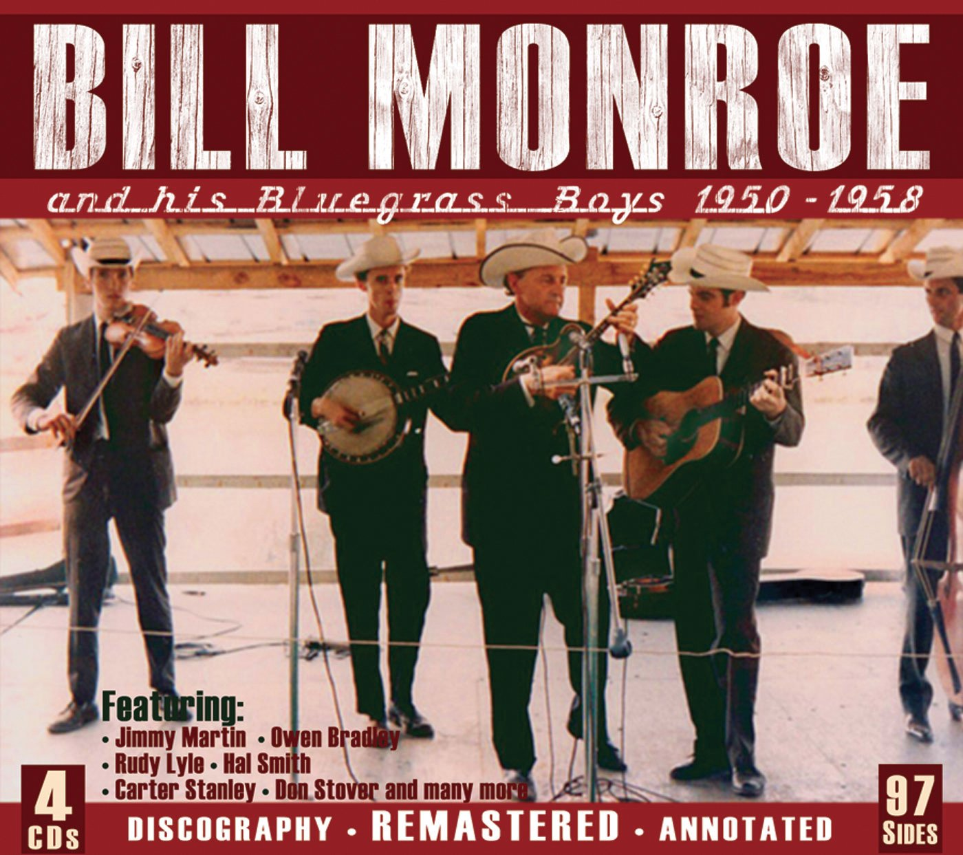 And His Bluegrass Boys 1950-1958 by JSP