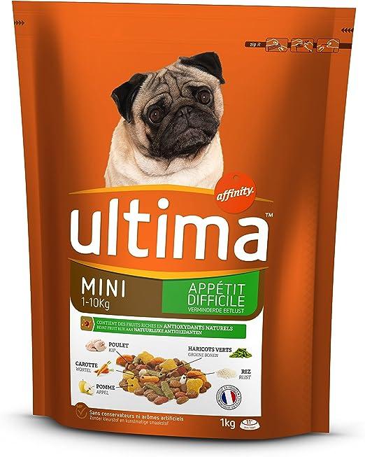 ultima pienso para Perro Mini (1 – 10 kg) Adulto Appétit difficile ...