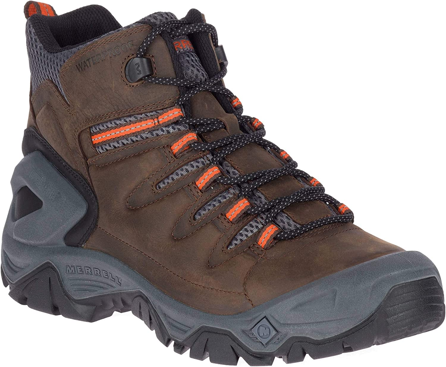 Merrell Men s Strongbound Peak Mid Waterproof Hiking Boot