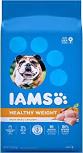Iams Adult Dry Dog Food for Healthy Weight, Chicken