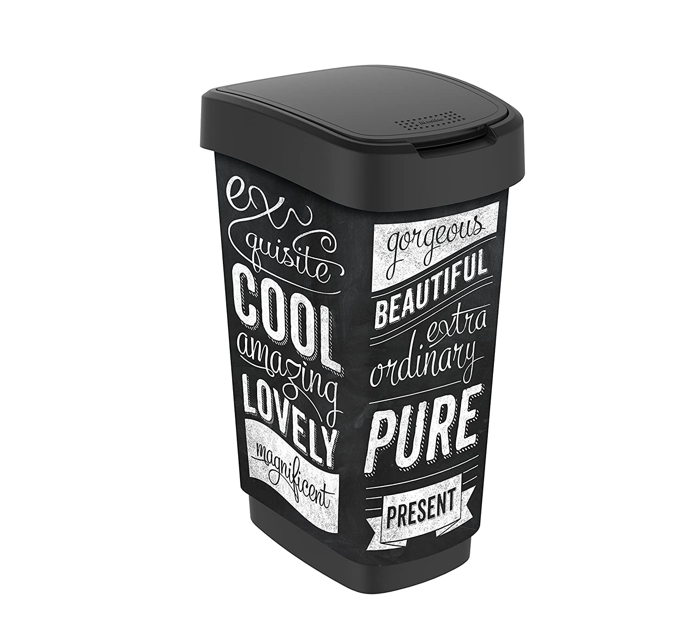 Papel Cesta Papel Cubo Cubo de Basura Cubo de Basura Trash Bin sin Tapa 26/cm Likeluk Papelera Oficina
