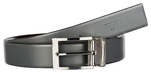 Bulchee Men's Leather Reversible Belt