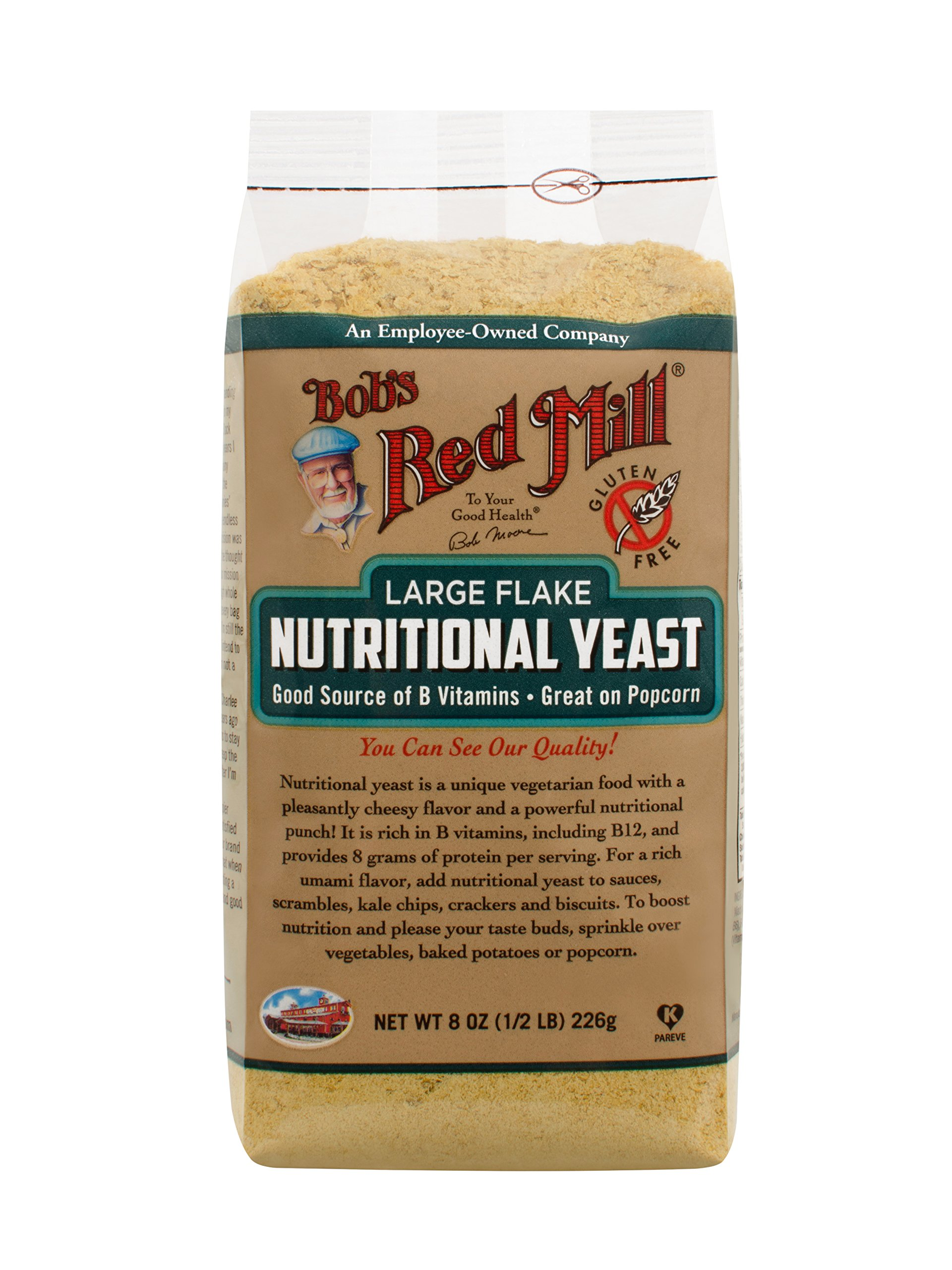 Bob's Red Mill Large Flake Yeast, 8 Ounce